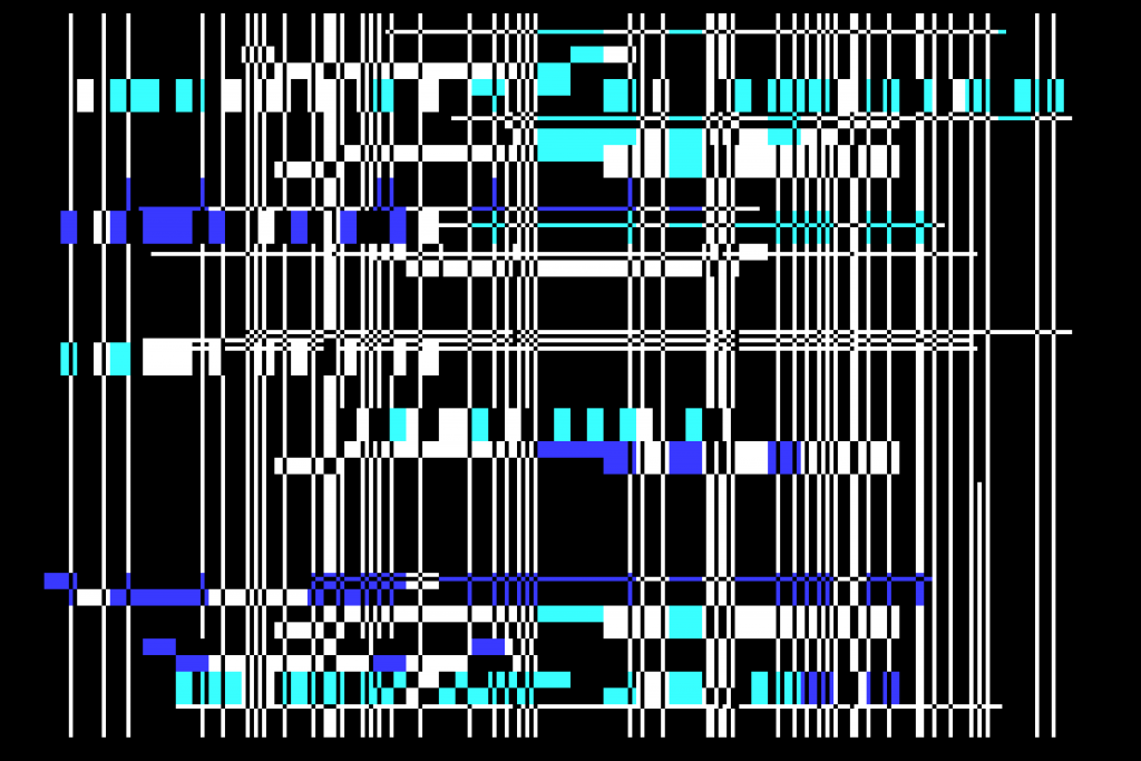 Micro Arts Group Geoff Davis MA1 Abstract Originals (#1) generative computer art