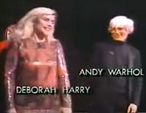 Andy Warhol Debbie Harry 1985