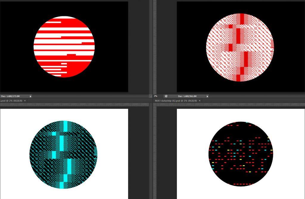 Circular Micro Arts prints 2021