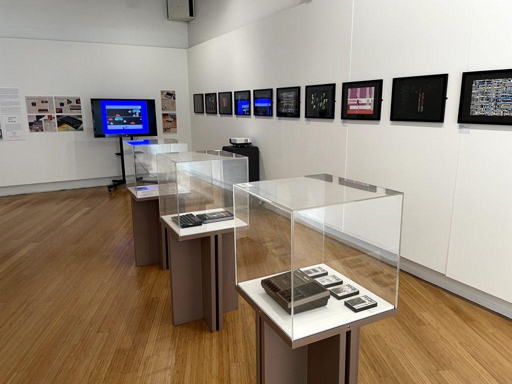 8-bit exhibition, Micro Arts, Leicester