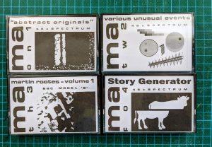 Micro Arts data cassettes
